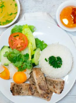 Rice with Grilled Chicken