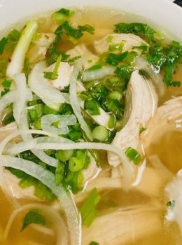White Meat Chicken Noodle Soup